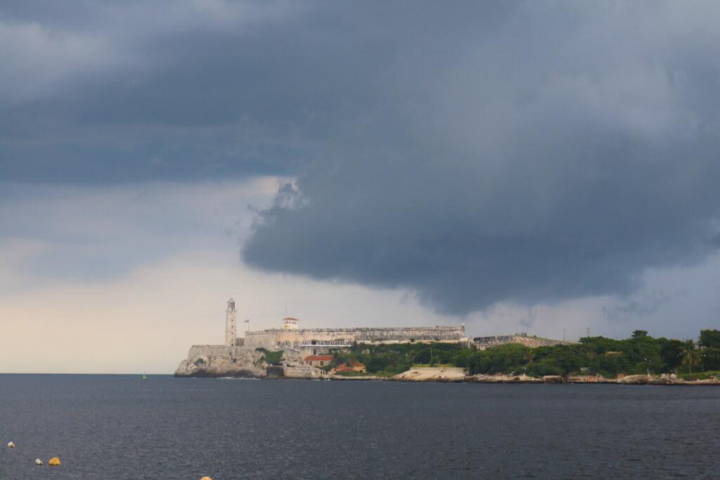 Morro Castle, a fortress in Havana