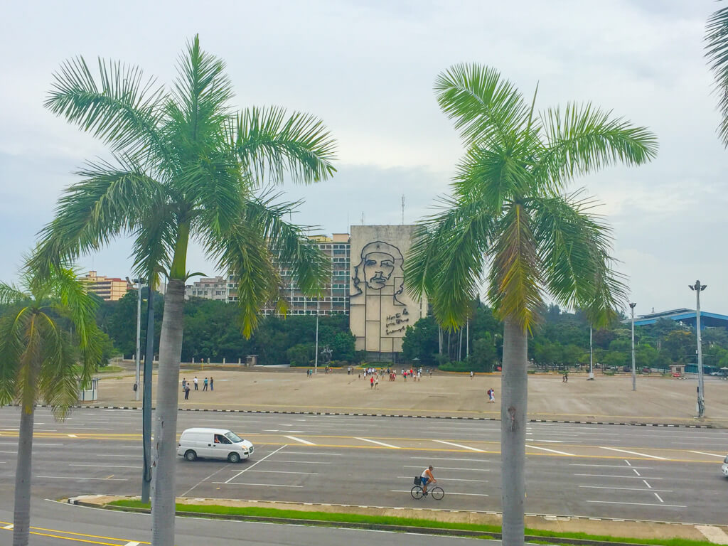 Revolution Plaza in Havana, Cuba