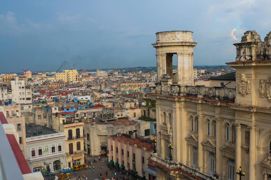 View from Pool at Gran Hotel Manzana Kempinski in Havana