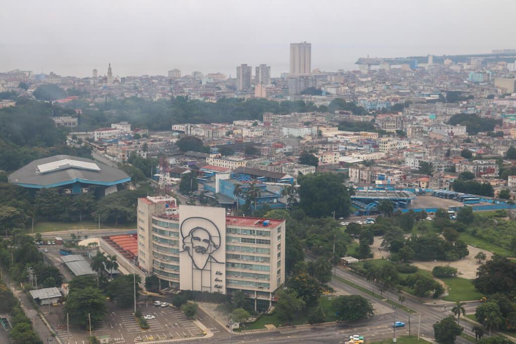 View from Jose Marti Memorial tower in Havana, Cuba