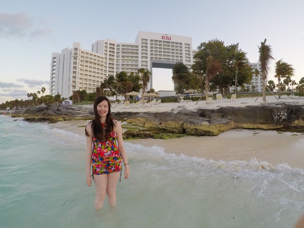 The Riu Palace Peninsula is a resort in Cancun, Mexico