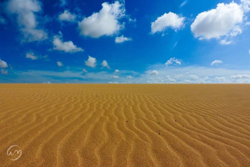 Dunes de Taroa is a desert in La Guajira, Colombia