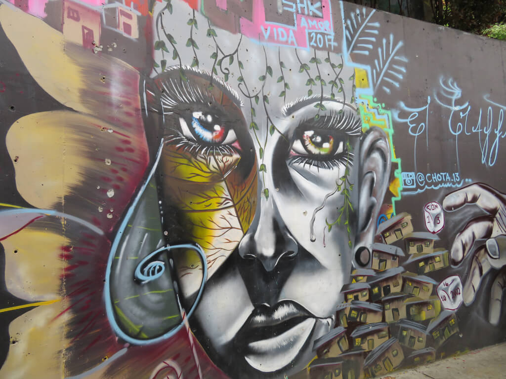 Art by artist chota13 in Comuna 13