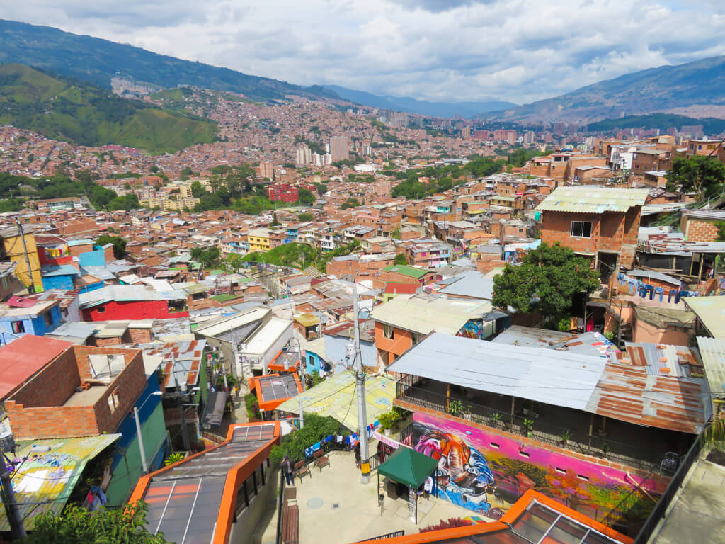 The escalators in Comuna 13 make life easier for its residents