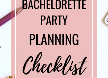 Bachelorette party planning checklist