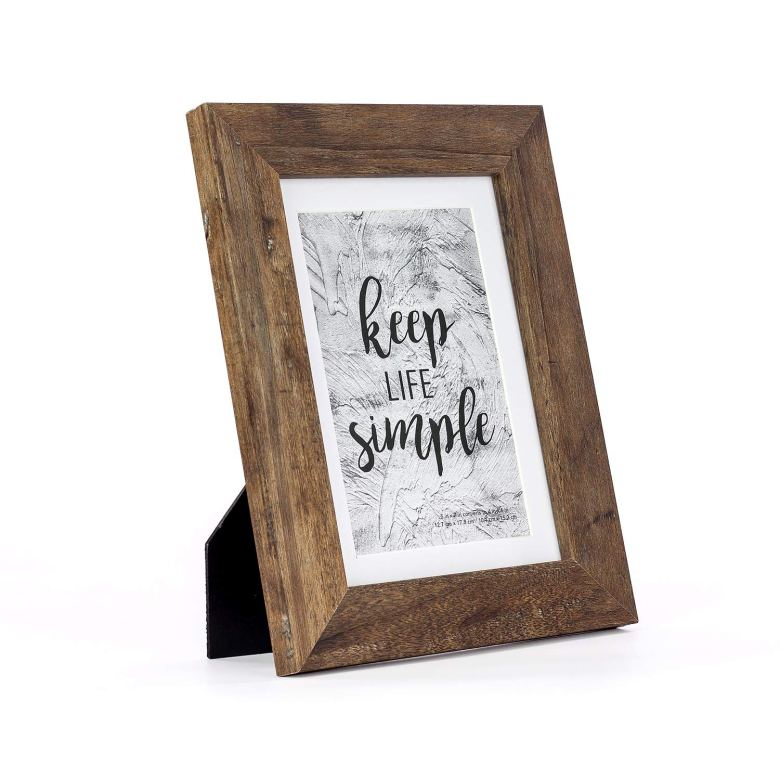 Picture frames are perfect bridal shower favors and game prizes