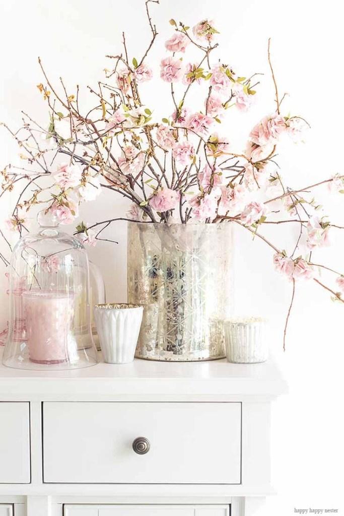 Paper flower cherry blossom