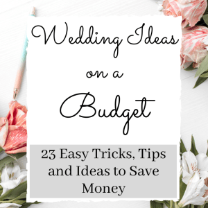 Wedding on a budget ideas