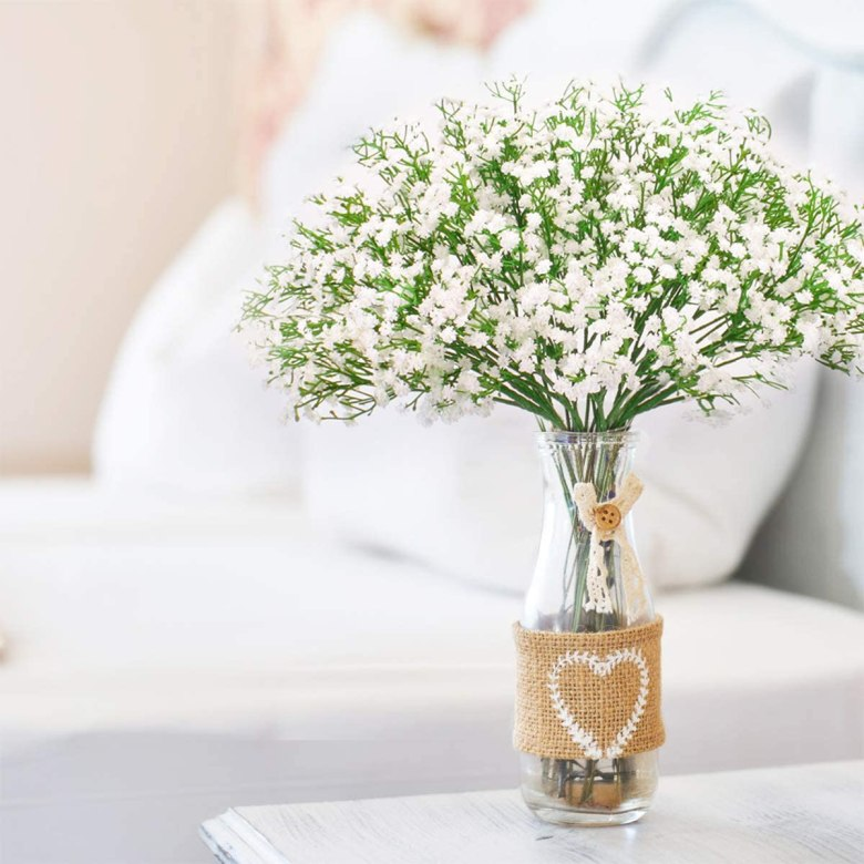 Artificial Baby Breath Flowers for Wedding Decor