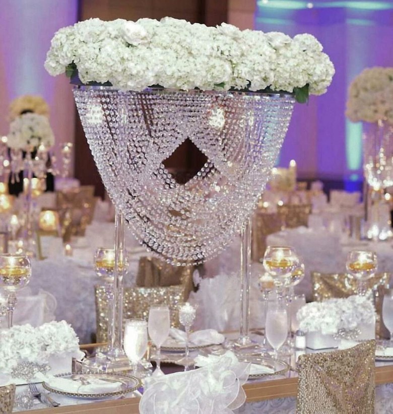 Crystal Centerpieces Chandeliers Table Centerpiece