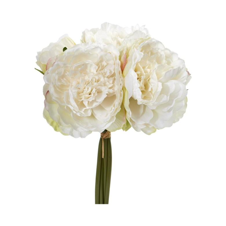 Peony bouquet artificial flowers for wedding