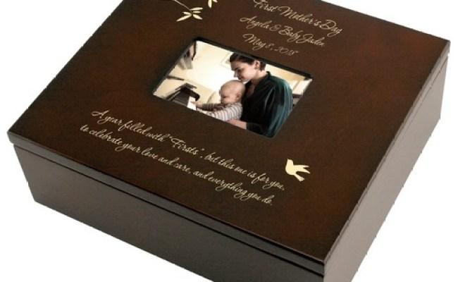 First Mothers Day Personalized Keepsake Box Keepsake