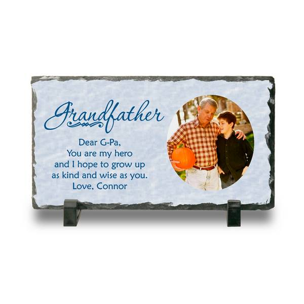 personalized photo slate keepsake