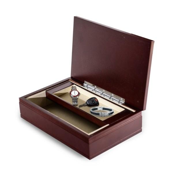 Men's Valet Jewelry Box