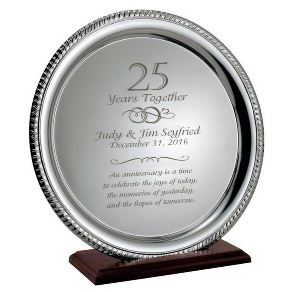 25th anniversary gift ideas