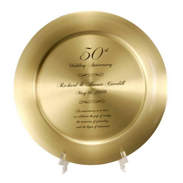 impressive personalized 50th anniversary