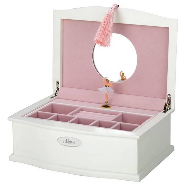 Personalized Ballerina Jewelry Box
