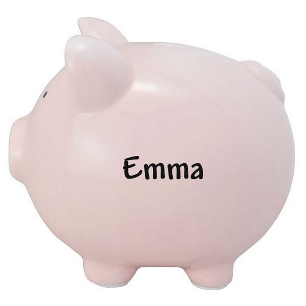 Large Piggy Banks Personalized