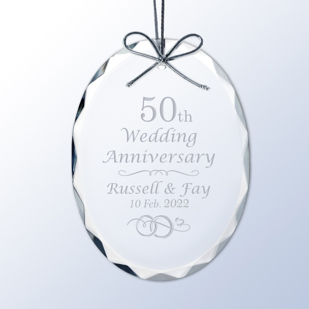 personalized wedding anniversary crystal