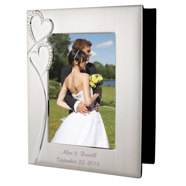 personalized wedding romance silver