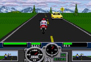 Road Rash (Mega Drive) - primeira pista