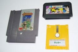 NES Famicom cartuchos