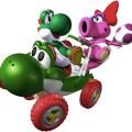 Yoshi e Birdo - Mario Kart Double Dash