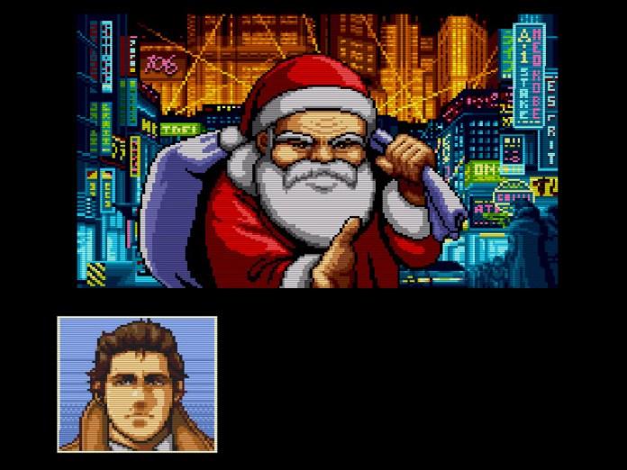Napoleon aparece disfarçado de Papai Noel
