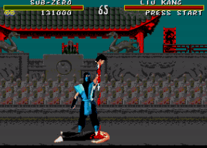 Mortal Kombat do Mega Drive