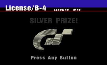 Gran Turismo - licença prata