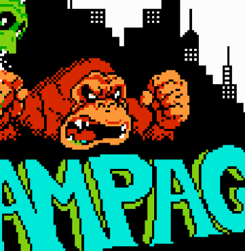 Rampage Nes banner