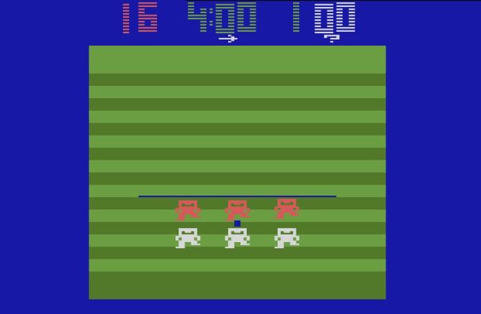Atari 2600 football