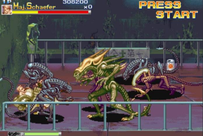 chefe de fase - alien vs predator