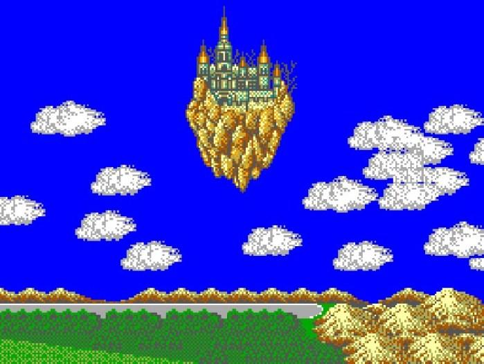 Air Castle, onde o grupo enfrenta Lassic
