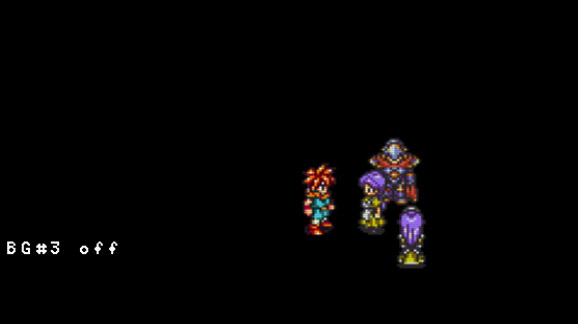 chrono trigger com background desabilitado snes9x