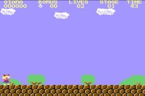 the Great Giana Sisters Commodore64