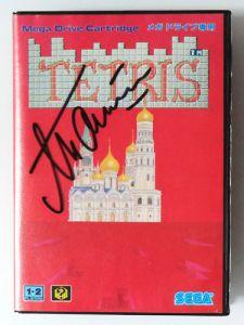 Tetris autografado
