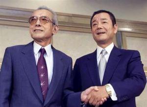 Hiroshi Yamauchi e  Kagemasa Kozuki