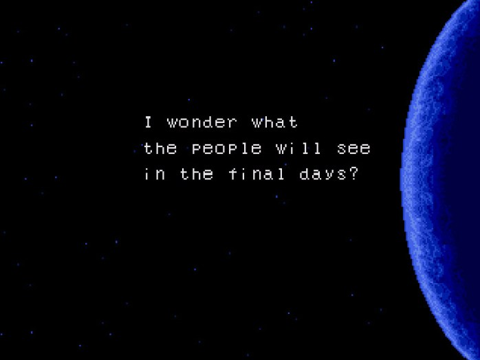 Phantasy Star II quote