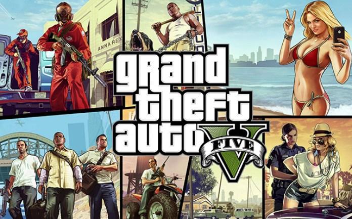 GTA V vindo para PC em 2014