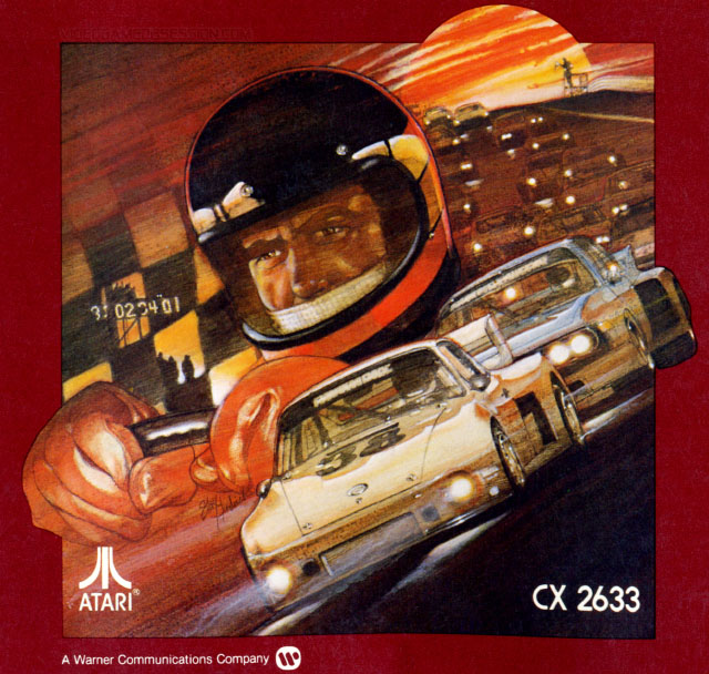 Night Driver Atari 2600 art