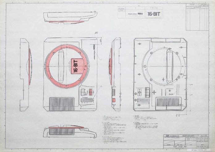 projeto do Mega Drive Sega