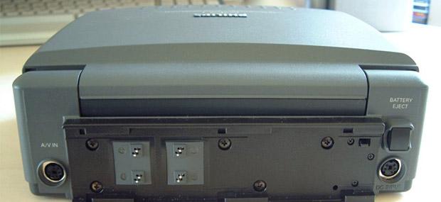 CD-i 350 - traseira