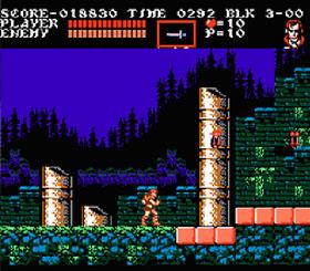 Dracula's Curse possui um dos melhores gráficos que o NES já viu