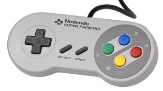 Super Famicom controle