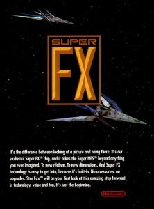 Nintendo Super FX anúncio