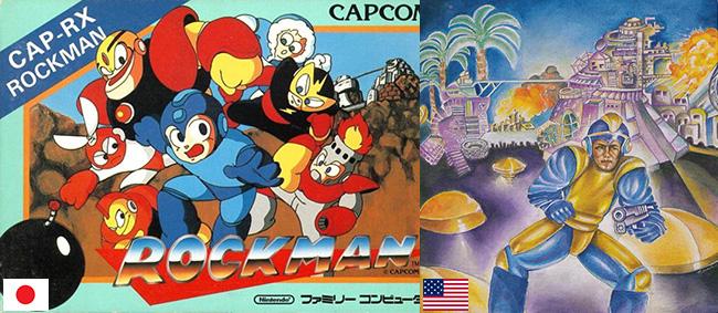 Mega Man Rockman capas