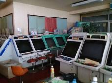 Arcade abandonado em Chiba