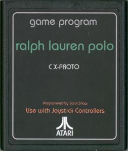 Ralph Lauren Polo Atari 2600 Prototype