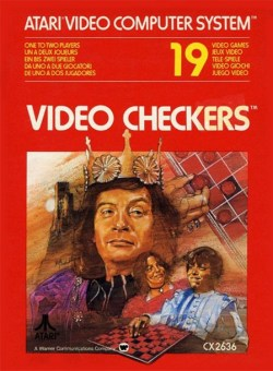 Video Checkers Atari 2600